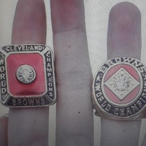 Cleveland Browns championship rings new sz 12